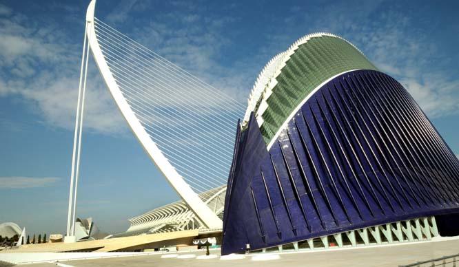 La Ciudad de las Artes y las Ciencias cerrará la cubierta del Ágora