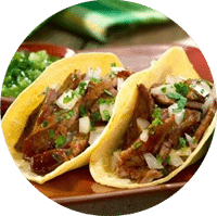 Tacos en Black Chili FUENTE: FB de Black Chili