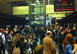 Metrovalencia se para en plena semana fallera