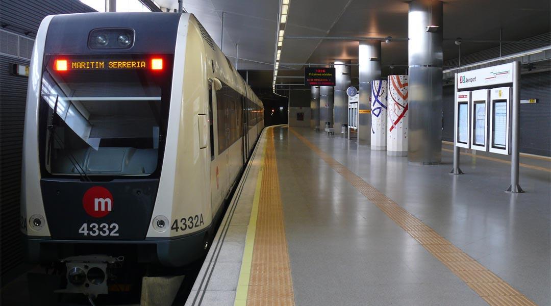 Diez años yendo al aeropuerto en metro
