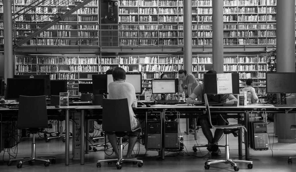 Bibliotecas universitarias cerradas por vacaciones