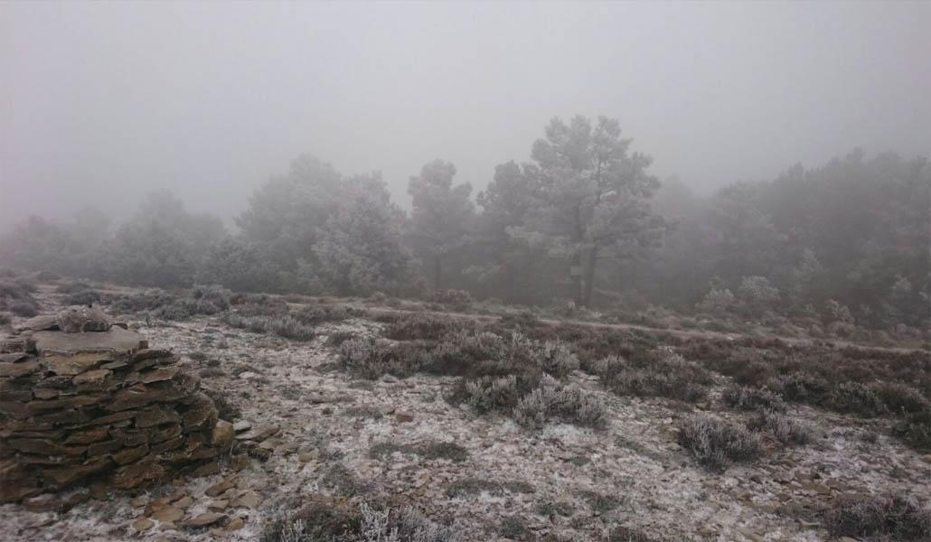 Nieve, lluvia y frío a las puertas de mayo