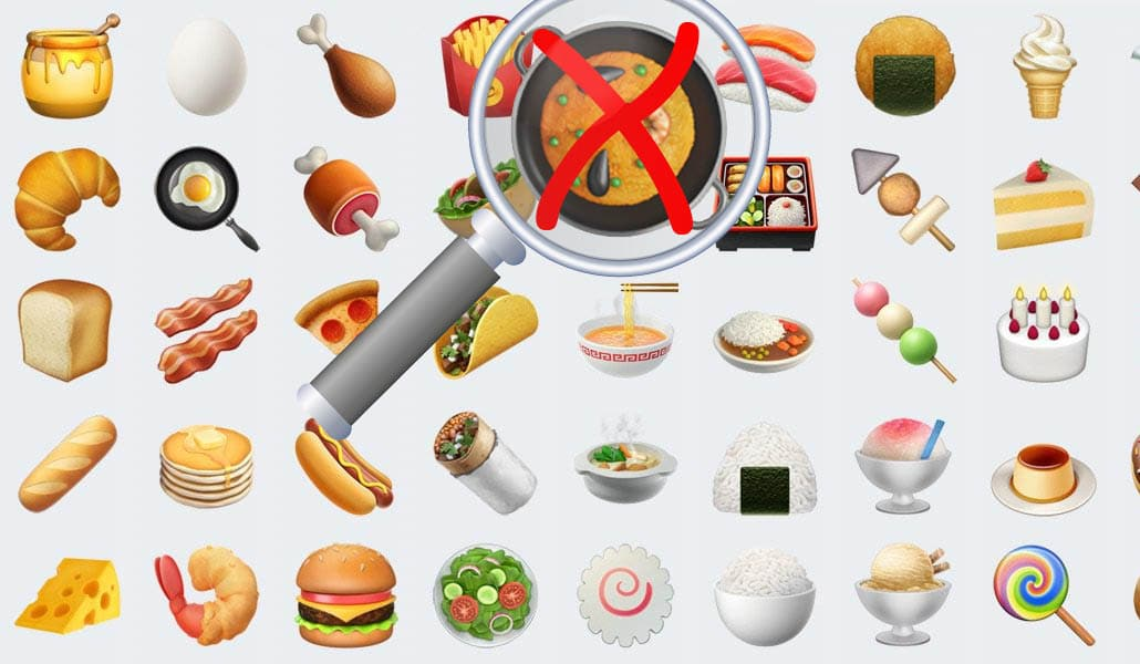 Apple corrije su emoji de la paella en la nueva actualización