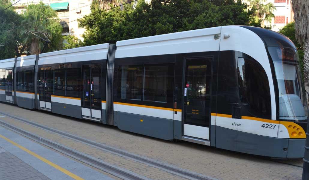 Los paros del tranvía de Valencia para abril y mayo