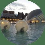 water balls oceanografic