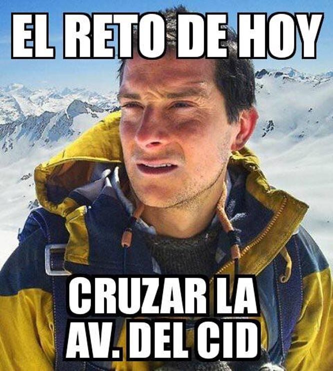 bear grylls lo intenta