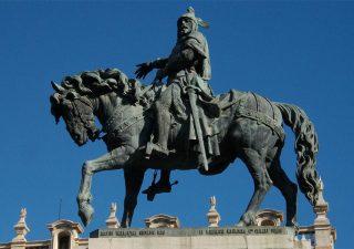 ¿Que hay QUÉ dentro del caballo de Jaime I?