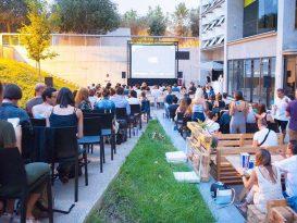 Una película a la fresca en La Rambleta