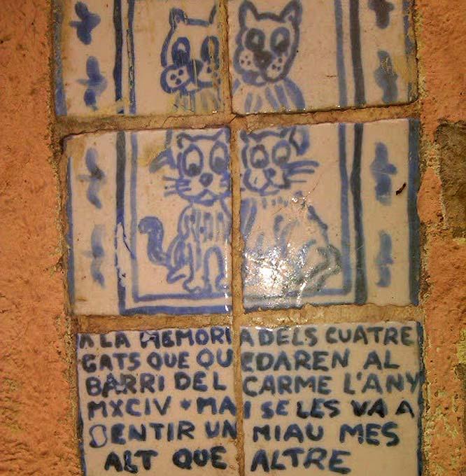 cartel cuatro gatos