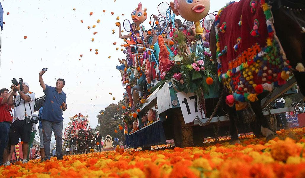 Los palcos para la Batalla de las Flores salen mañana a la venta