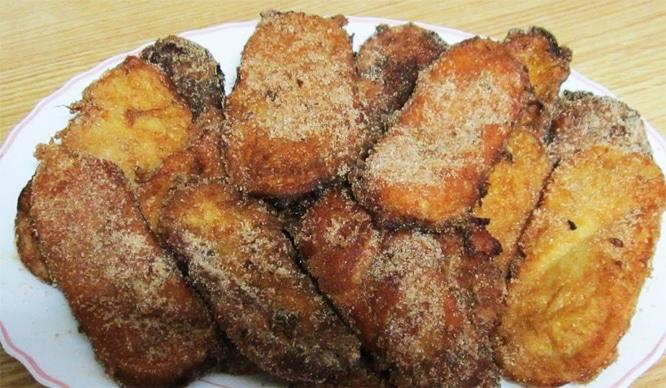 torrijas fartons horchata