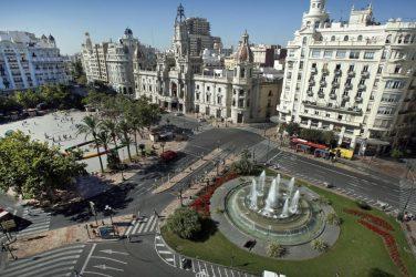 plaza ayuntamiento sin coches
