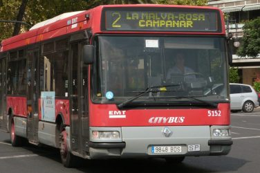 Foto: Autobuses por Valencia