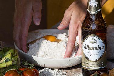 cervezas alhambra tapas con tiempo III