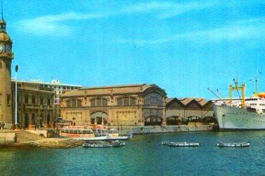 escalera puerto valencia
