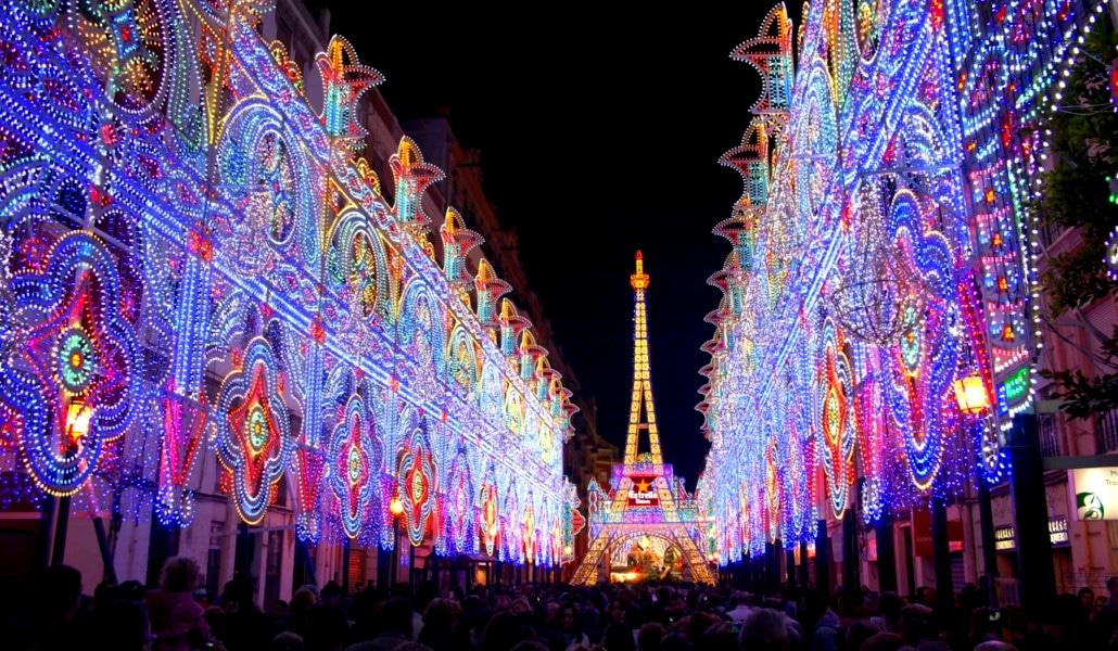 calles iluminadas 2018