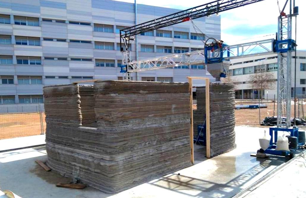 La primera casa de espa a impresa en 3d est en valencia for Primera impresora 3d