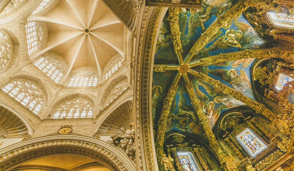 catedral valencia techo