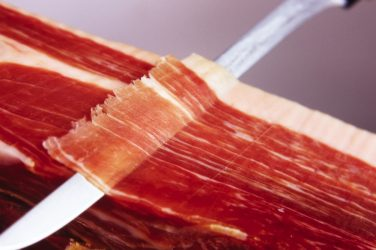 cortar jamon