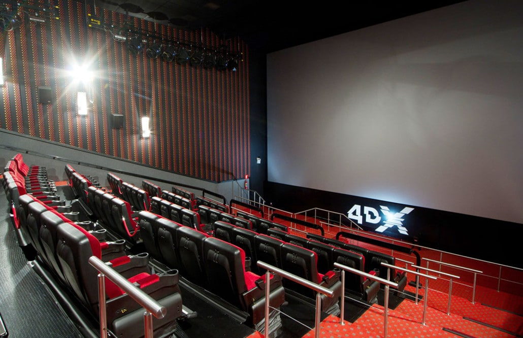 cine 4dx valencia