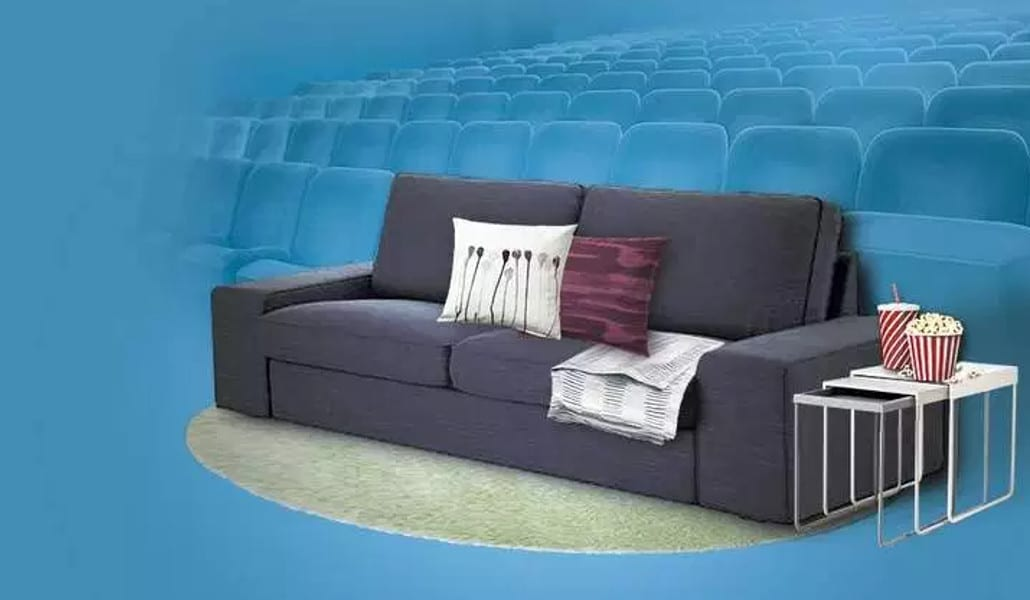 Sof peli y manta en los cines de bonaire valenciasecreta - Ikea valencia sofas ...