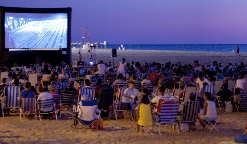 cine verano playa valencia