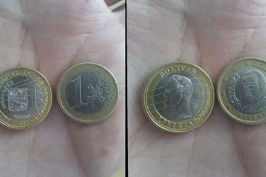 moneda falsa 1 euro