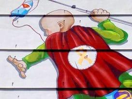 mural oncologia la fe