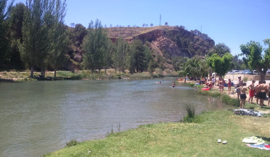 fluvial beach bugarra