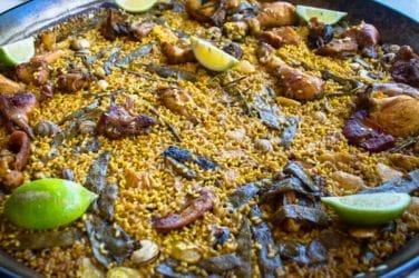 paella valenciana bon aire