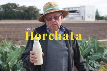 HORCHATA agricutlroees valencianos