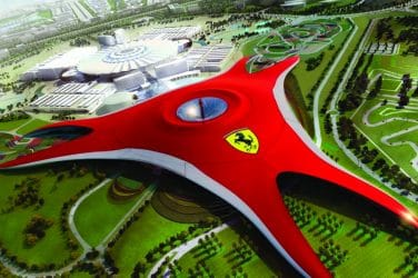 ferrari world valencia