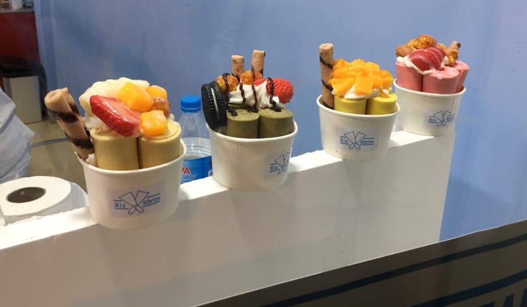 helado matcha