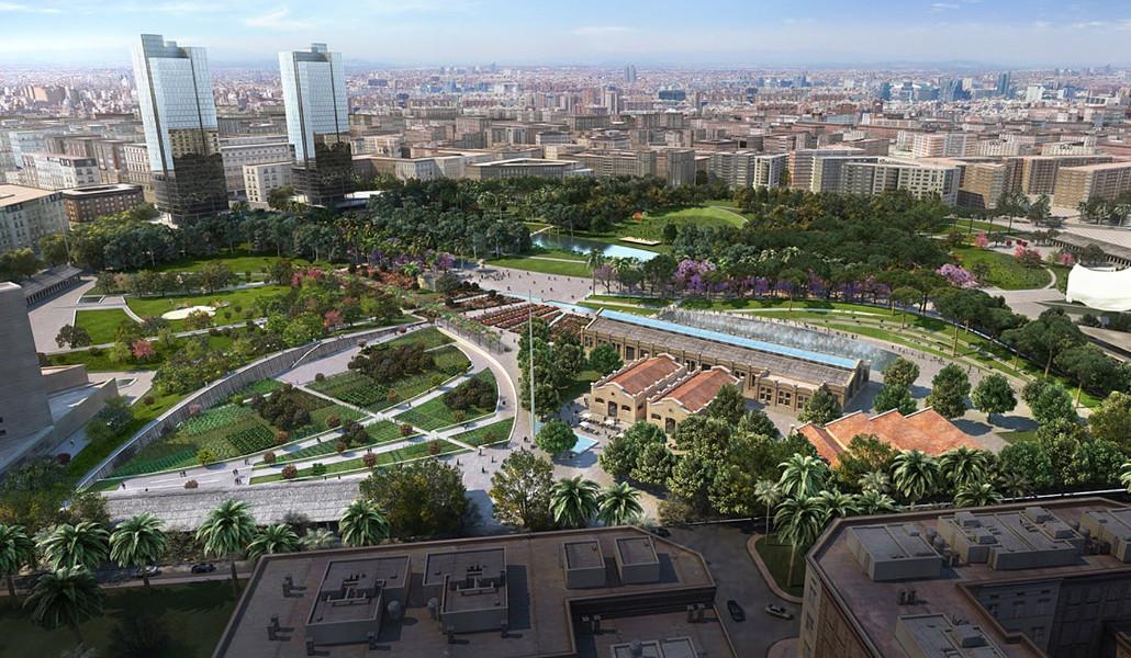 parc central valencia
