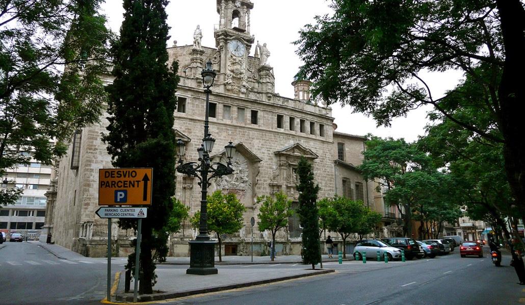 iglesia santos juanes valencia exterior