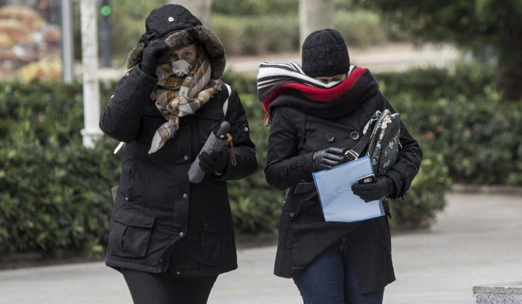 ola de frio valencia enero 2019